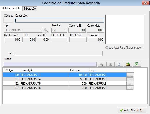 Dt. Ult. Sai  Permite visualizar a data da última venda   saída. Estoque   Permite visualizar o estoque atual do produto 1217bdaa08c